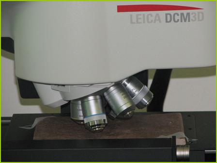 Profilometro senza contatto 3D - caratterizzazione superficiale