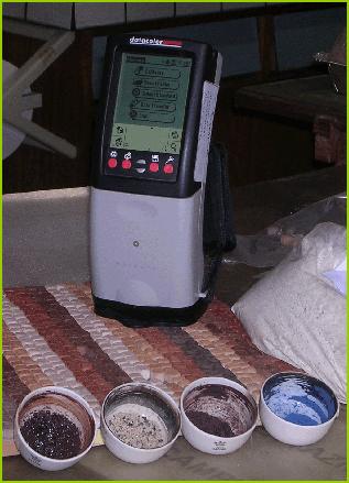 Colorimetro, spettrofotometro a riflettanza