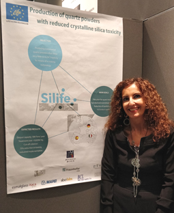 Progetto EU SILIFE - Production of quartz powders with reduced crystalline silica toxicity